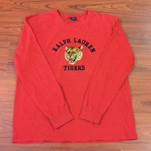 90s Vintage POLO Sport Ralph Lauren Tiger Shirt XL